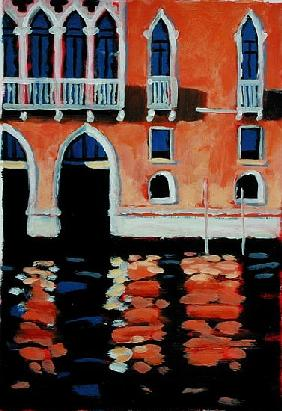 Palazzo, Venice (oil on card)