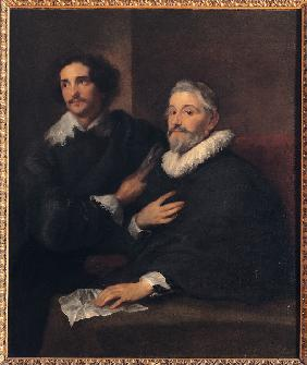Portrait of the Brothers de Wael