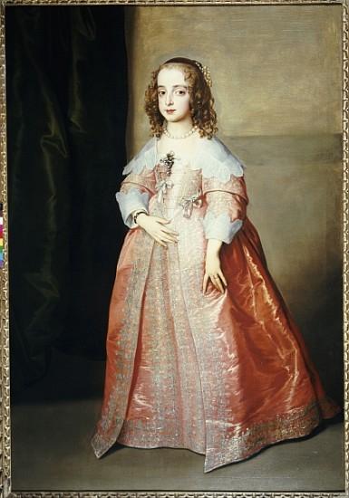 Portrait of mary, princess royal, c.1641