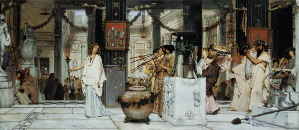 The Vintage Festival in Ancient Rome