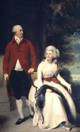 Portrait of John Julius Angerstein (1735-1823) and his second wife Eliza (1748/9-1800)
