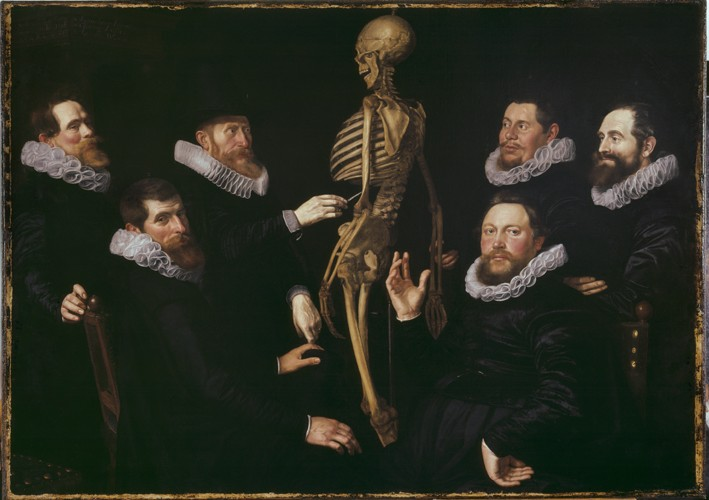 The Anatomy Lesson of Dr. Sebastiaen Egb - Thomas de Keyser Als ...