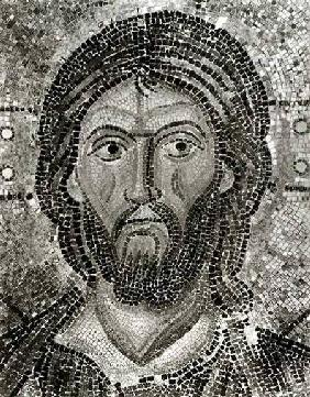 Head of Christ from the Zoe Panel, from 'The Mosaics of Hagia Sophia at Istambul'