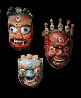 Masks (wood)