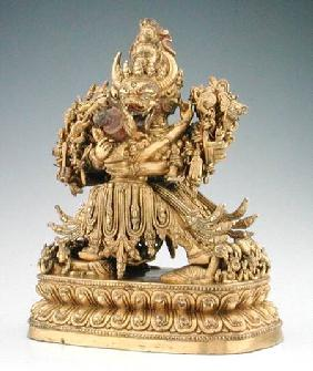 Vajrabhairava, aspect of Yamantaka, guardian of law