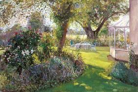 Tea Under the Great Oak, 1991  - Timothy  Easton