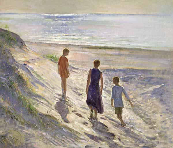 Down to the Sea, 1994 (oil on canvas)