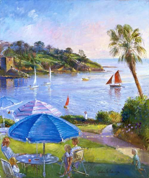 Shades and Sails, 1992 (oil on canvas)