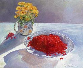 Still Life with Redcurrants and Marigolds, 1991