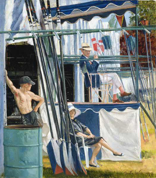 The Crows Nest, Henley, 1995-96 (oil on canvas)