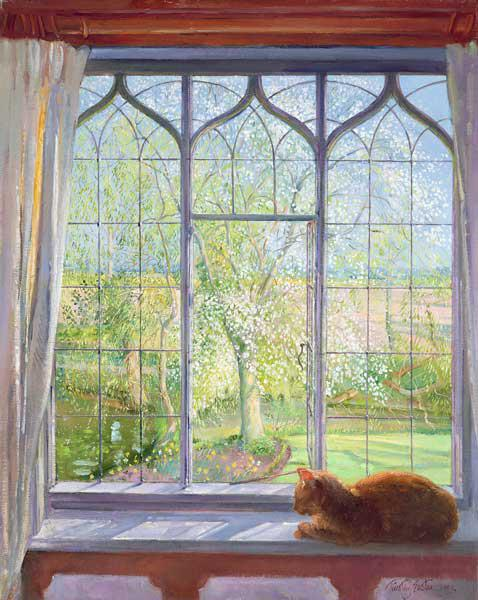 Window in Spring, 1992