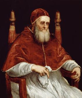 Pope Julius II (1443-1513) after a painting by Raphael
