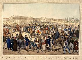 The Coalition army enters Paris on March 31, 1814