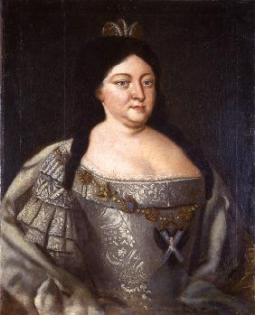 Portrait of Empress Anna Ioannovna (1693-1740)