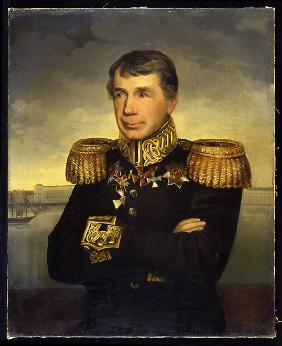 Portrait of the admiral and explorer Ivan Krusenstern (Adam Johann Ritter von Krusenstern) (1770-184