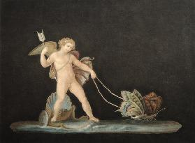 Cupid with Butterflies