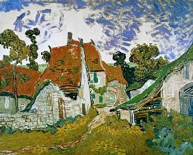 Dorfstra�e in Auvers