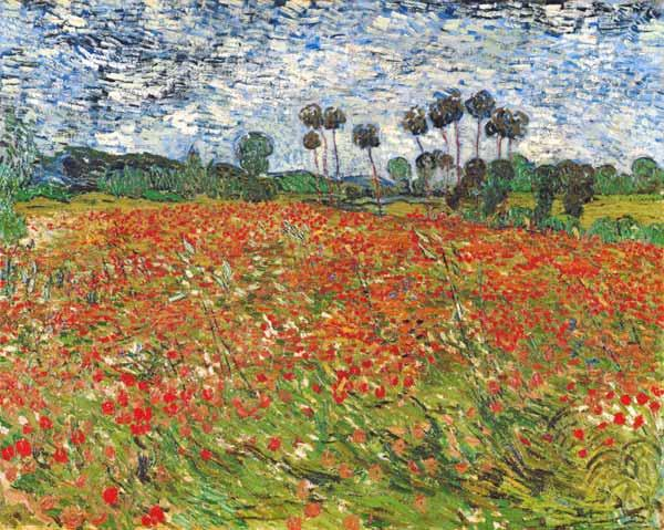 Field of Poppies, Auvers-sur-Oise