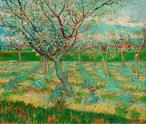 van Gogh / Orchard in Blossom / 1888