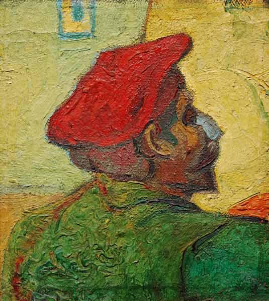 Paul Gauguin / Painting by van Gogh