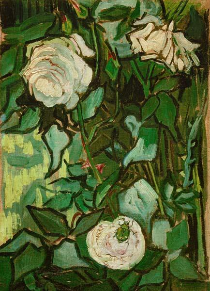 V.van Gogh, Roses and Beetle/Paint./1890