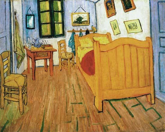 Vincents slaapkamer in Arles - Vincent van Gogh Als kunstdruk of als ...