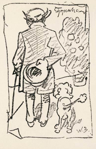 karikaturen uit de grafische kunst bij kunstkopie