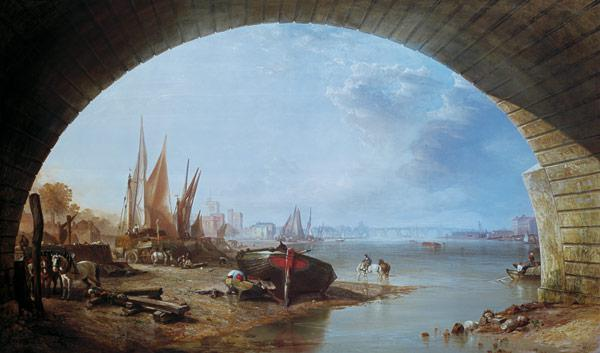 Old Vauxhall Bridge, London