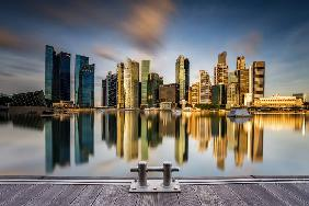 Golden Morning in SIngapore
